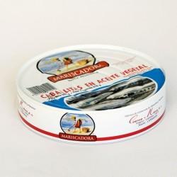 RO-550 Caballitas en Aceite Vegetal 20/25 piezas